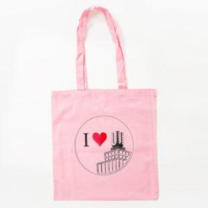 I Love U Tasche rosa